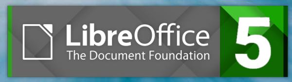 LibreOffice 5 splash screen