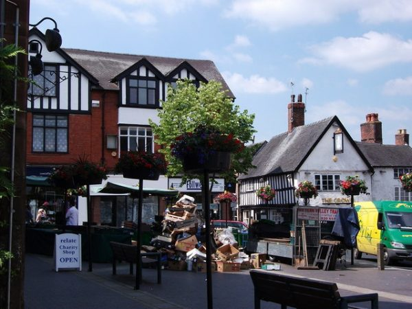 Market day in Drayton High Street