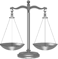 image of scales of justice