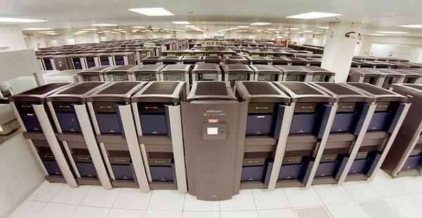image of Blue Mountain supercomputer