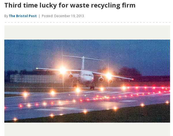 Bristol Post article screenshot
