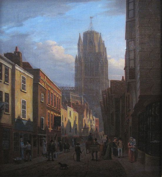 image of   James Johnson's picture of Redcliffe Street, c. 1825