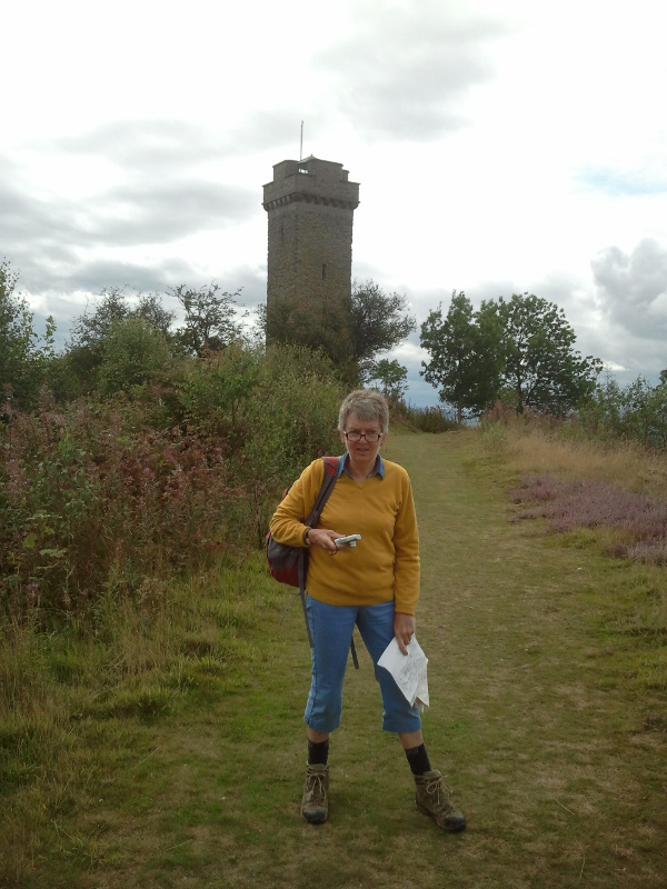 image of my sister at Flounders' Folly