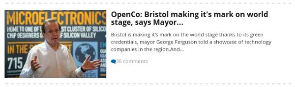 Bristol Post headline featuring greengrocer's apostrophe