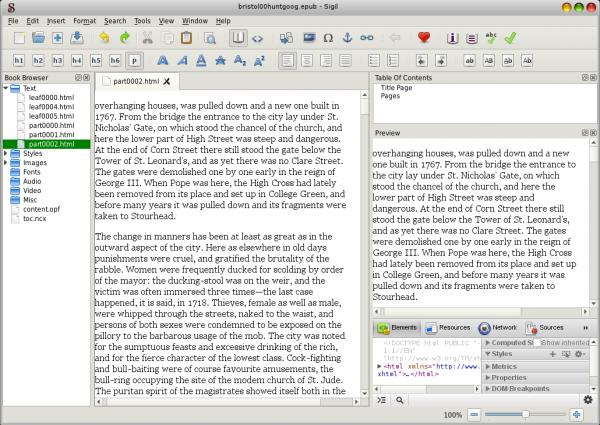 Sigil screenshot
