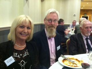 At table: Jill, Steve and Stuart