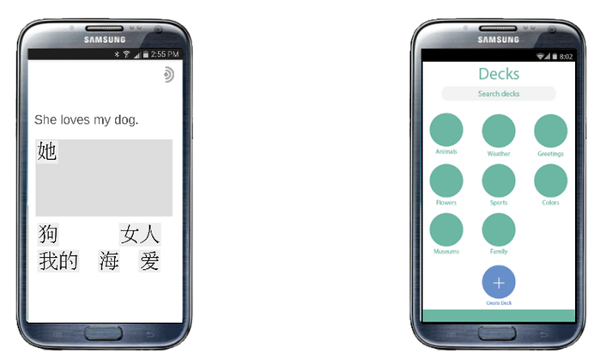 Openwords on mobile phone