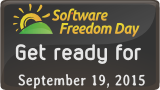 Software Freedom Day 2015 banner