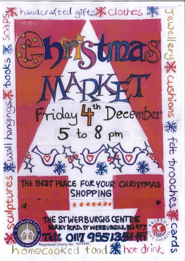 2015 Christmas market poster
