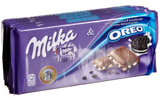 Milka & Oreo bars