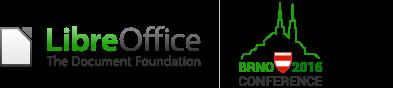 LibreOffice conference Brno logo